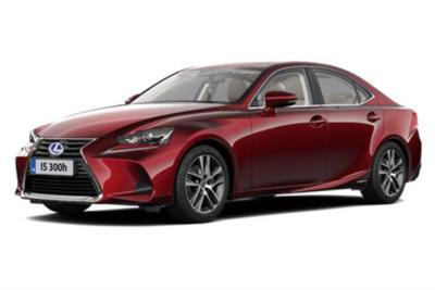 Lexus Is Saloon 300h Executive Edition 4dr CVT Auto Business Contract Hire 6x35 10000