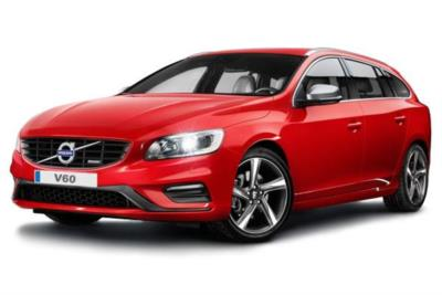 Volvo V60 Diesel Hybrid D6 (220ps) Twin Eng R-design Lux Nav AWD Geartronic Auto Business Contract Hire 6x35 10000