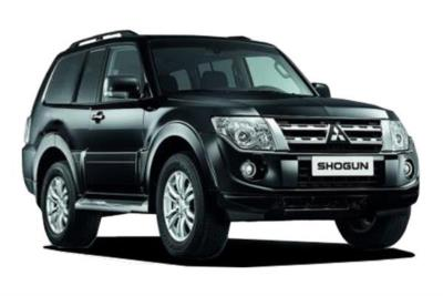 Mitsubishi Shogun Diesel 3.2 Di-dc SG2 187 3dr Auto Business Contract Hire 6x35 10000