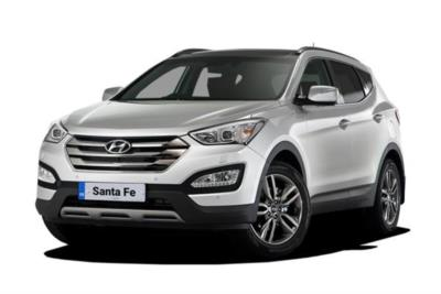 Hyundai Santa Fe Diesel Estate 2.2 Crdi Blue Drive Premium 5dr 5 Seat 4WD 6Mt Business Contract Hire 6x35 10000