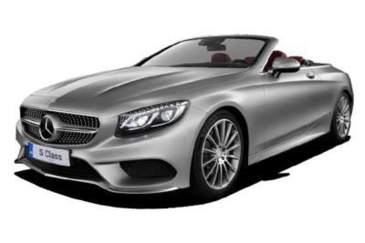 Mercedes Benz S Class Cabriolet S500 AMG Line 2Dr Auto Business Contract Hire 6x35 10000