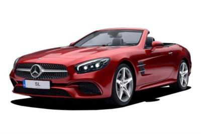 Mercedes Benz SL Series Convertible 400 AMG Line 2dr 9G-Tronic Business Contract Hire 6x35 10000