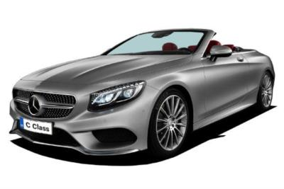 Mercedes Benz C Class Diesel Cabriolet C220d 170ps AMG Line 9G-Tronic Auto Business Contract Hire 6x35 10000