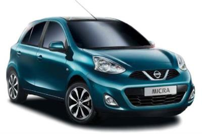 Nissan Micra Hatchback Special Edition 1.2  Visia Limited Edition 5dr 5Mt Business Contract Hire 6x35 10000