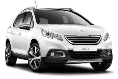 Peugeot 2008 Estate Diesel 1.6 BlueHDi 100ps Allure 5dr Business Contract Hire 6x35 10000