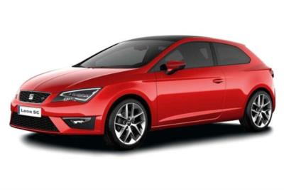 Seat Leon Sport Coupe 1.4 Tsi 125ps FR Technology 3dr 6Mt Business Contract Hire 9x23 8000