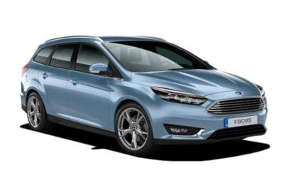 Ford Focus Estate 2.0T 250ps Ecoboost ST-2 Navigation 5dr 6Mt Business Contract Hire 6x35 10000