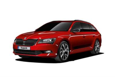 Skoda Superb Diesel Estate 2.0 Tdi Cr 190ps Se L Executive 5dr DSG 7 Speed Personal Contract Hire 6x35 10000