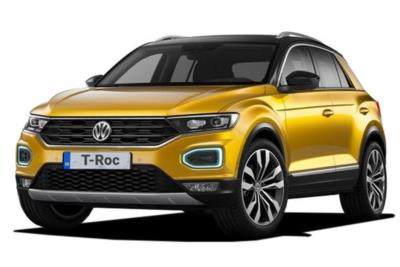 Volkswagen T-Roc Hatchback 1.0 Tsi 115ps S 5dr 6Mt Business Contract Hire 6x35 10000