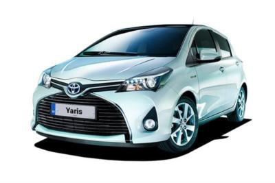Toyota Yaris Hybrid 1.5 Vvti Hybrid Icon Tech 5dr CVT Auto Business Contract Hire 6x35 10000