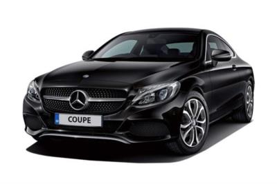 Mercedes Benz C Class Diesel Coupe C220d 170ps AMG Line 9G-Tronic Auto Business Contract Hire 6x35 10000