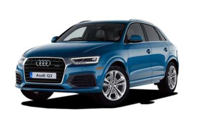Audi Q3 Estate Special Editions 1.4 Tfsi 150ps CoD Black Edition 5dr S-Tronic 7At Business Contract Hire 6x35 10000