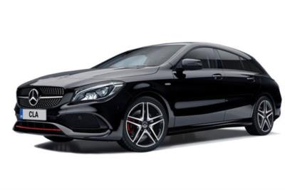 Mercedes Benz CLA Class Diesel Shooting Brake 200d 136ps AMG Line 5dr 6Mt Business Contract Hire 6x35 10000