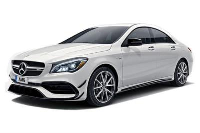 Mercedes Benz CLA AMG Coupe 45 AMG  4dr 4Matic Tip Auto Business Contract Hire 6x35 10000
