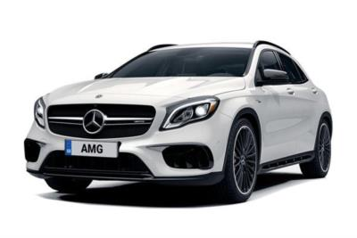 Mercedes Benz GLA Class AMG Hatchback Gla 45 4MATIC 5dr Auto Business Contract Hire 6x35 10000