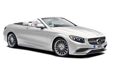 Mercedes Benz S Class AMG Cabriolet S63 2Dr Auto Business Contract Hire 6x35 10000
