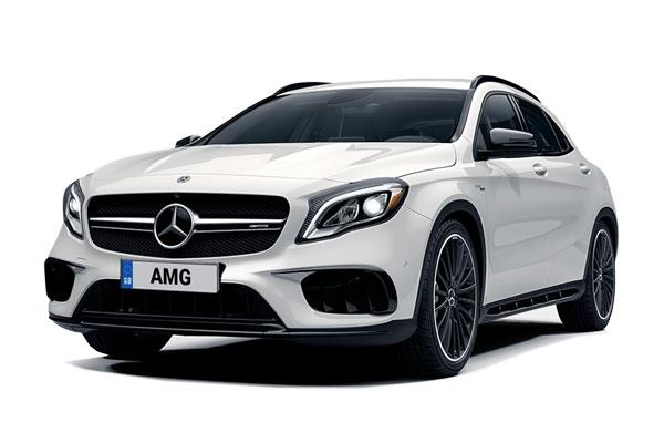 Mercedes Benz GLA 45 AMG 4MATIC 5dr Auto from £441.45 + VAT per month