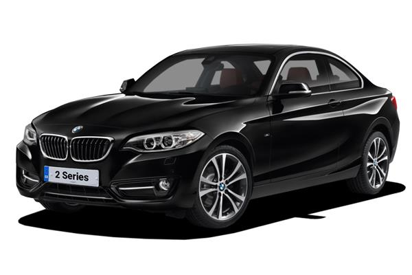 BMW 2 Series Coupe 218i 136ps M Sport 2dr (Nav) from £203.30 + VAT per month