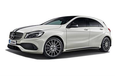 Mercedes Benz A Class Hatchback Special Edition A160 1.6 WhiteArt 5dr 6Mt Business Contract Hire 6x35 10000