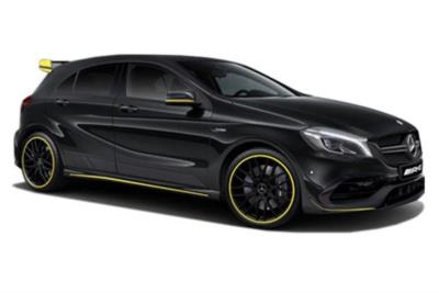 Mercedes Benz A Class Amg Hatchback Special Edition A45 Yellow Night Edition 4-Matic 5dr Auto Business Contract Hire 6x35 10000