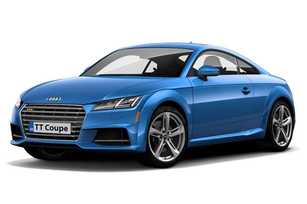 Audi TT Coupe 1.8 TFSI 180ps Black Edition from £269.00 + VAT per month