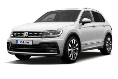 Volkswagen Tiguan Diesel Estate 2.0 Tdi 150ps BMT R-Line 5dr 4Motion 6Mt Business Contract Hire 6x35 10000