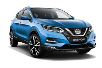 Nissan Qashqai 1.2 DiG-T N-Connecta (Glass Roof Pack) 5dr 6Mt Business Contract Hire 6x35 10000