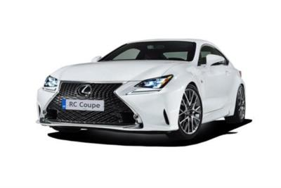 Lexus Rc Coupe Special Editions 300h 2.5 F-Sport Black Edition 2dr CVT Business Contract Hire 6x35 10000