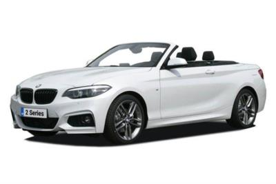 Bmw 2 Series Convertible 218i 136ps M Sport 2dr (Nav) Step Auto Lease 6x35 10000
