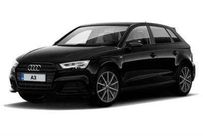 Audi A3 Sportback 30 Tfsi 116 Black Edition 5dr Business Contract Hire 6x35 10000