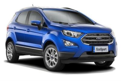 Ford Ecosport Diesel 1.5 EcoBlue Zetec 5dr Business Contract Hire 6x35 10000