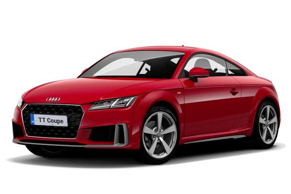 Audi TT Coupe 45 TFSi Black Edition 2dr S-Tronic Business Contract Hire 6x35 10000