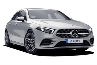 Mercedes Benz A Class Diesel Hatchback A180d AMG Line Executive 5dr Auto Business Contract Hire 6x35 10000