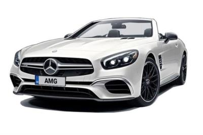 Mercedes Benz SL AMG Convertible 63 2dr Mct Business Contract Hire 6x35 10000