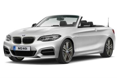 Bmw 2 Series Convertible M240i 2dr (Nav) Step Auto Business Contract Hire 6x35 10000