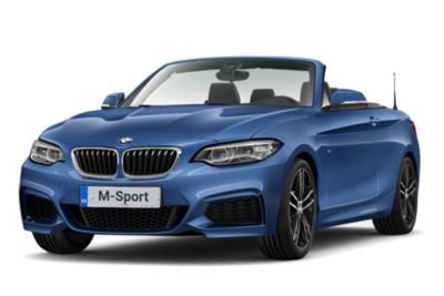 Bmw 2 Series Diesel Convertible 218d M Sport 2dr (Nav) Step Auto Business Contract Hire 6x35 10000