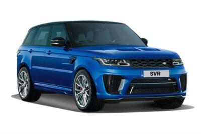 Land Rover Range Rover Sport Estate 5.0 P575 S/C SVR 5dr Auto Business Contract Hire 6x35 10000