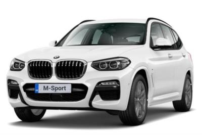 Bmw X3 Diesel Estate xDrive 30d M-Sport 5dr Step Auto Business Contract Hire 6x35 10000