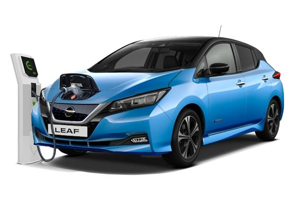 Nissan Leaf Hatchback 110kW Acenta 40kWh (6.6Kw Charger) 5dr Auto Business Contract Hire 6x35 10000