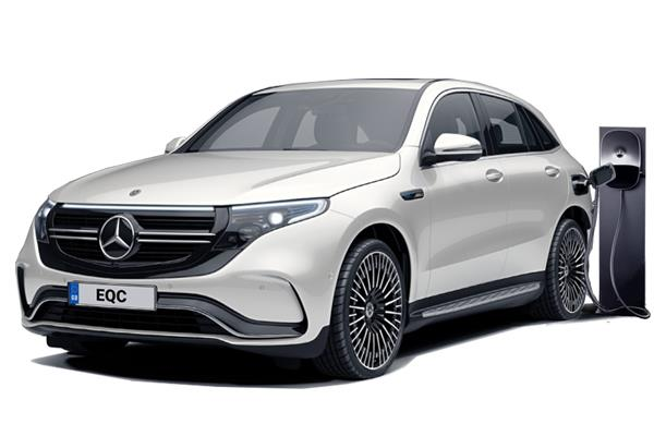 Mercedes Benz EQC SUV Estate 400 300kW AMG Line Premium Plus 80kWh 5dr Auto Business Contract Hire 6x35 10000