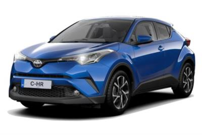 Toyota C-HR Hatchback 1.8 Hybrid Design 5dr CVT Business Contract Hire 6x35 10000