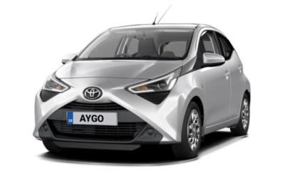 Toyota Aygo Hatchback 1.0 Vvt-i X-Play 5dr x-shift Business Contract Hire 6x35 10000