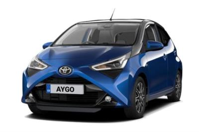 Toyota Aygo Hatchback 1.0 Vvt-i X-Clusive 5dr x-shift Business Contract Hire 6x35 10000