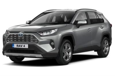 Toyota Rav4 Estate 2.5 VVTi Hybrid Design 5dr CVT 2WD Business Contract Hire 6x35 10000