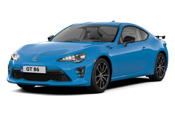 Toyota GT 86 Special Edition 2.0 D-4S Blue Edition 6Mt Business Contract Hire 6x35 10000