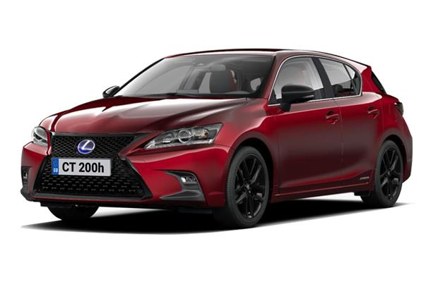 Lexus CT Hatchback 1.8 200h F-Sport 5dr CVT (Takumi Pack) Business Contract Hire 6x35 10000