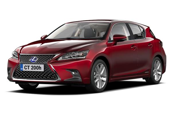 Lexus CT Hatchback 1.8 200h Takumi 5dr CVT (16 inch Alloy) Business Contract Hire 6x35 10000