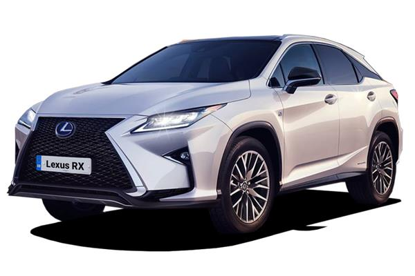 Lexus Rx Estate 450h 3.5 F-Sport 5dr Cvt [Takumi pack] Business Contract Hire 6x35 10000
