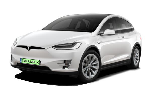 Tesla Model X Hatchback Long Range AWD 5dr Auto Business Contract Hire 6x35 10000