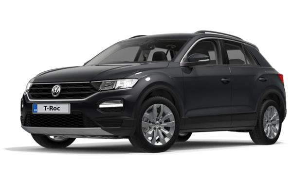 Volkswagen T-Roc Hatchback 1.0 Tsi 115ps Se 5dr 6Mt Business Contract Hire 6x35 10000